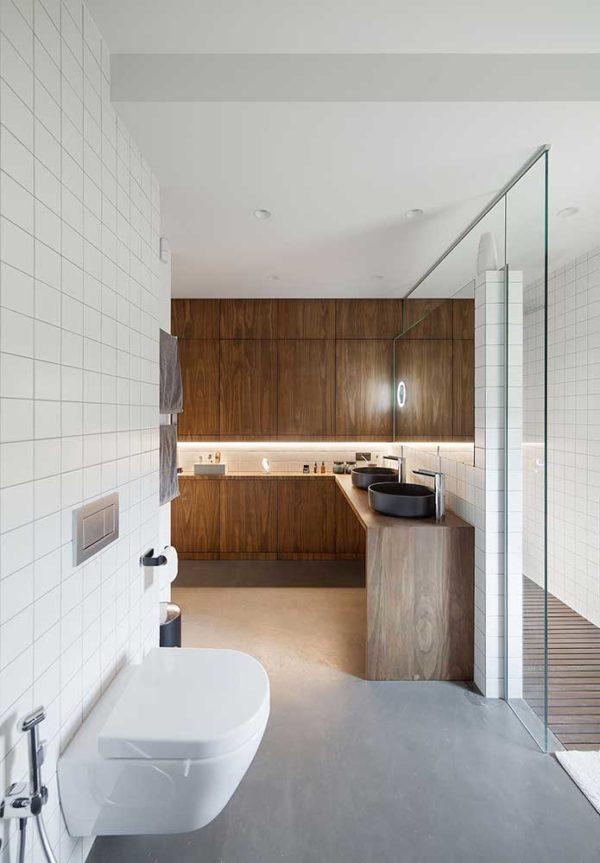 Реконструкция и дизайн интерьера дома в минималистическом стиле by TSEH - фото 14