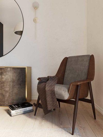 """Дизайн интерьера дома в коттеджном городке """"Балатон"""" by ARCHEVISTA DESIGN - фото 18"""