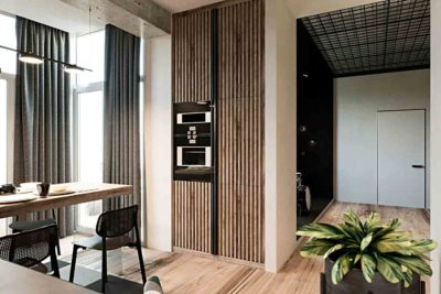 "Дизайн интерьера двухкомнатной квартиры в стиле лофт ""Cactus"" by ZOOI - фото 3"