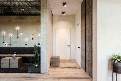 "Дизайн интерьера двухкомнатной квартиры в стиле лофт ""Cactus"" by ZOOI - фото 4"