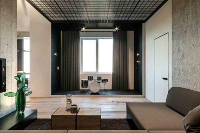 "Дизайн интерьера двухкомнатной квартиры в стиле лофт ""Cactus"" by ZOOI - фото 7"