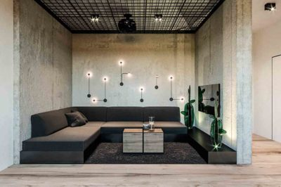 "Дизайн интерьера двухкомнатной квартиры в стиле лофт ""Cactus"" by ZOOI - фото 8"