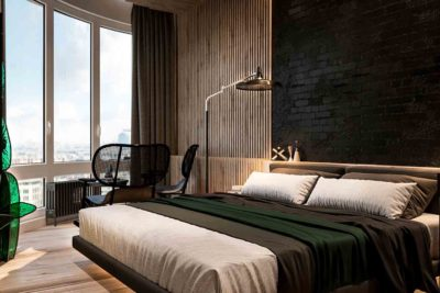 "Дизайн интерьера двухкомнатной квартиры в стиле лофт ""Cactus"" by ZOOI - фото 10"