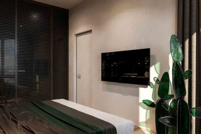 "Дизайн интерьера двухкомнатной квартиры в стиле лофт ""Cactus"" by ZOOI - фото 11"