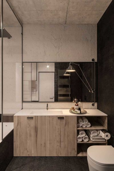 "Дизайн интерьера двухкомнатной квартиры в стиле лофт ""Cactus"" by ZOOI - фото 14"