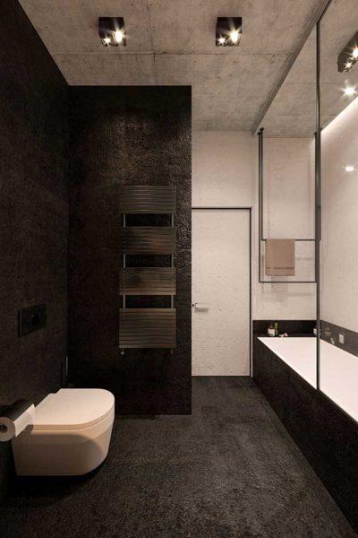 "Дизайн интерьера двухкомнатной квартиры в стиле лофт ""Cactus"" by ZOOI - фото 15"