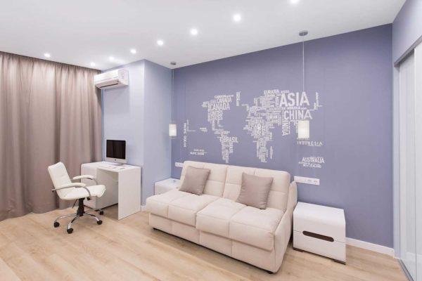 Дизайн интерьера однокомнатной квартиры «Легкий лофт в ЖК Лыбидь-2» by Leviartes - фото 2