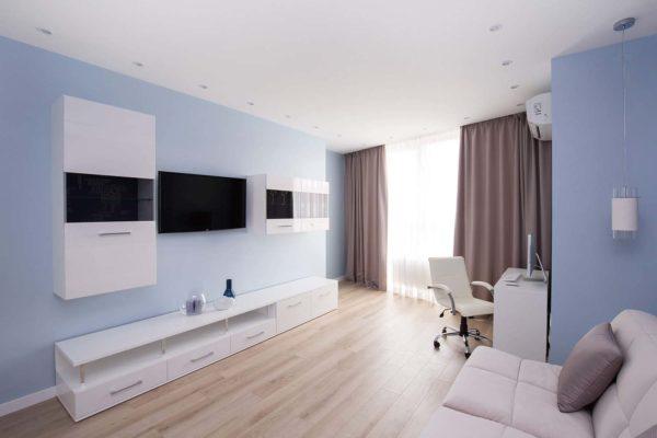 Дизайн интерьера однокомнатной квартиры «Легкий лофт в ЖК Лыбидь-2» by Leviartes - фото 4