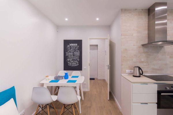 Дизайн интерьера однокомнатной квартиры «Легкий лофт в ЖК Лыбидь-2» by Leviartes - фото 5
