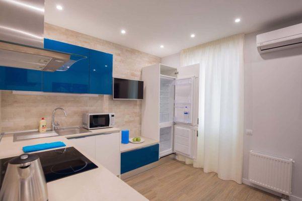 Дизайн интерьера однокомнатной квартиры «Легкий лофт в ЖК Лыбидь-2» by Leviartes - фото 6