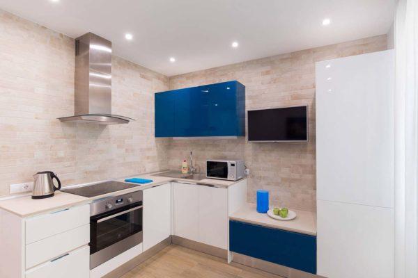 Дизайн интерьера однокомнатной квартиры «Легкий лофт в ЖК Лыбидь-2» by Leviartes - фото 7