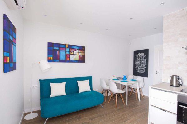 Дизайн интерьера однокомнатной квартиры «Легкий лофт в ЖК Лыбидь-2» by Leviartes - фото 8