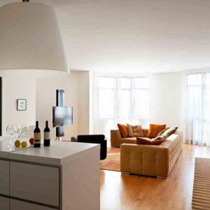 """Дизайн интерьера трехкомнатной квартиры с минимализмом """"Я чувствую твою улыбку"""" by Materia174"""
