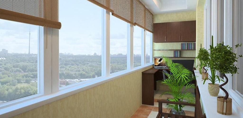 design lodjii i balkona - Дизайн балконов и лоджий: грамотно и со вкусом