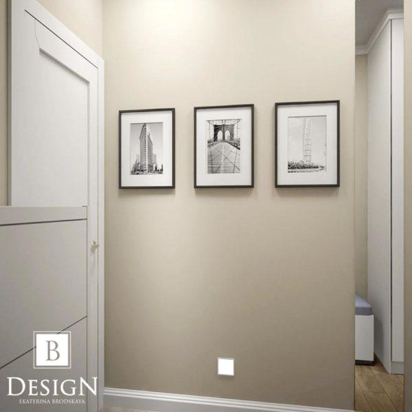 Дизайн интерьера однокомнатной квартиры «Минимализм на Подоле» by Бродская - фото 4