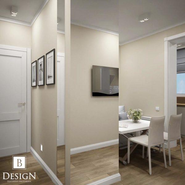 Дизайн интерьера однокомнатной квартиры «Минимализм на Подоле» by Бродская - фото 5
