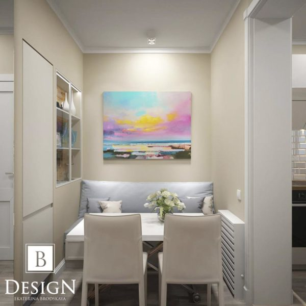 Дизайн интерьера однокомнатной квартиры «Минимализм на Подоле» by Бродская - фото 6