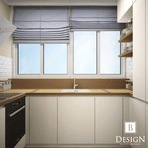 Дизайн интерьера однокомнатной квартиры «Минимализм на Подоле» by Бродская - фото 8