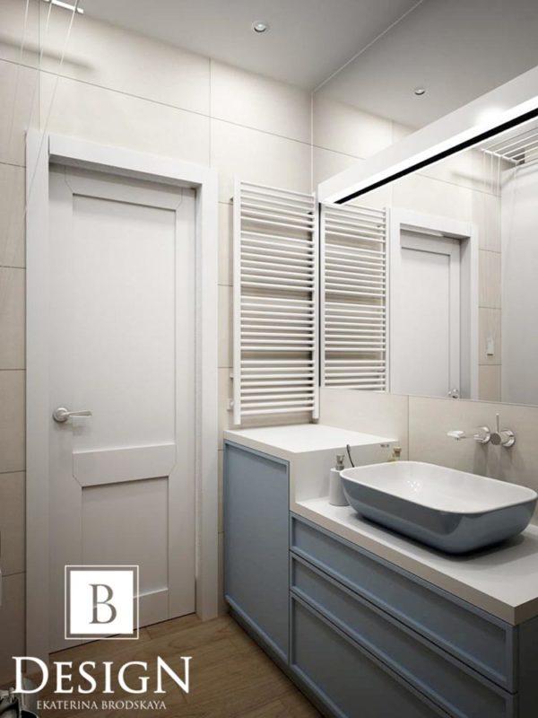 Дизайн интерьера однокомнатной квартиры «Минимализм на Подоле» by Бродская - фото 10