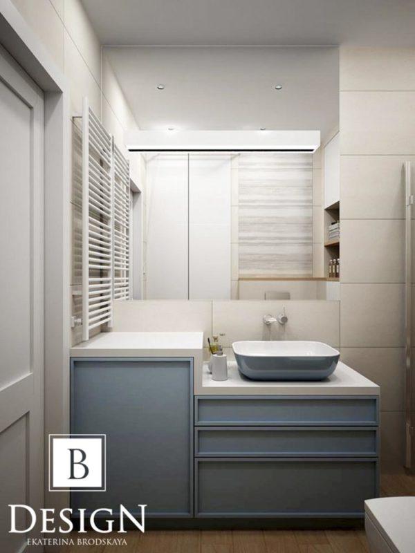Дизайн интерьера однокомнатной квартиры «Минимализм на Подоле» by Бродская - фото 11