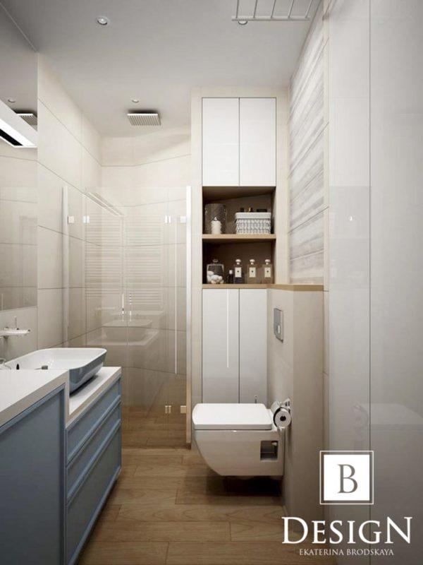 Дизайн интерьера однокомнатной квартиры «Минимализм на Подоле» by Бродская - фото 12