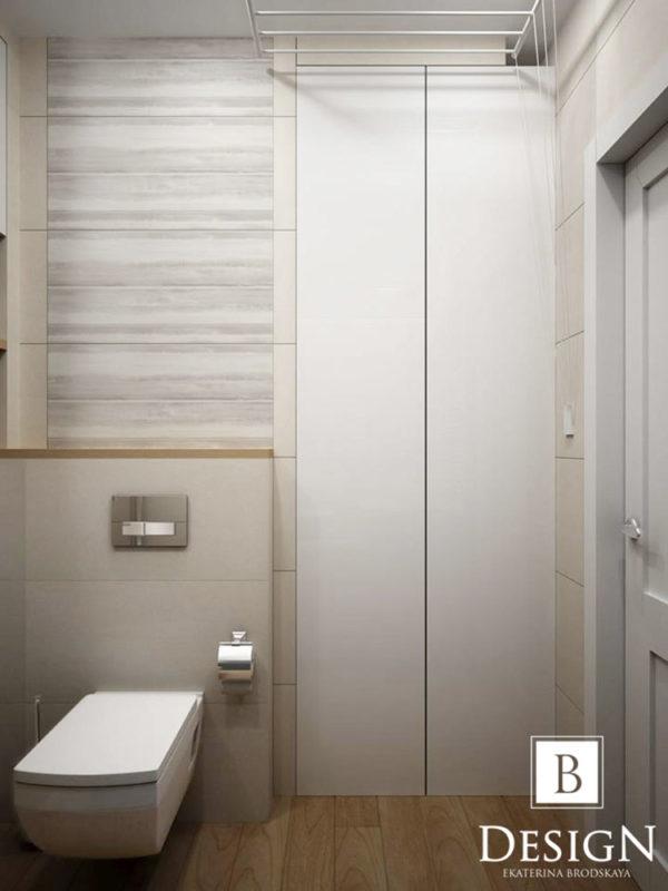 Дизайн интерьера однокомнатной квартиры «Минимализм на Подоле» by Бродская - фото 13