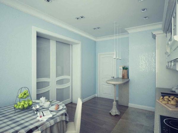 """Дизайн интерьера двухкомнатной квартиры """"Прованс в ЖК Изумрудный"""" by Lavreniuk - фото 9"""