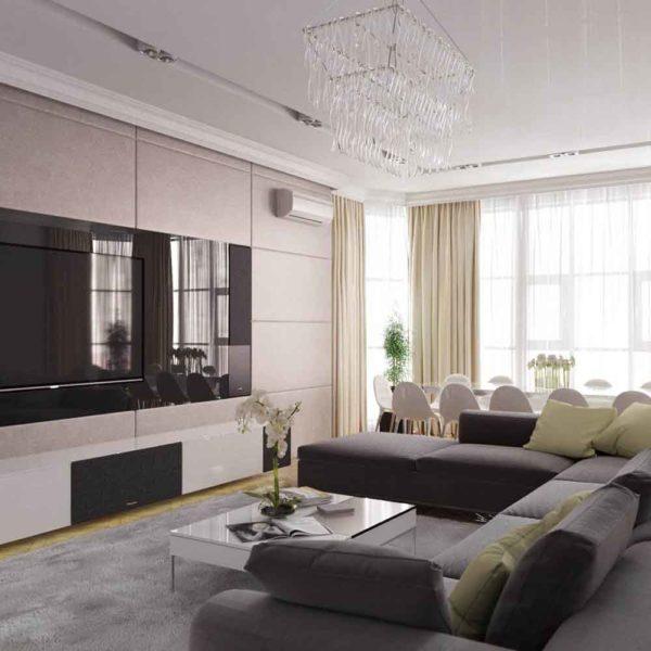 Дизайн интерьера четырехкомнатной квартиры в дуете классики и модерна by Elitehouse - фото 4