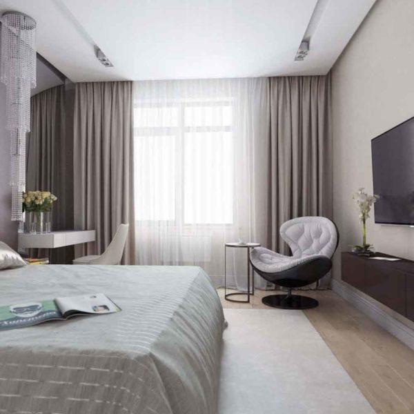 Дизайн интерьера четырехкомнатной квартиры в дуете классики и модерна by Elitehouse - фото 8