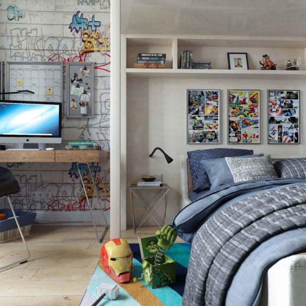 Дизайн интерьера четырехкомнатной квартиры в дуете классики и модерна by Elitehouse - фото 14