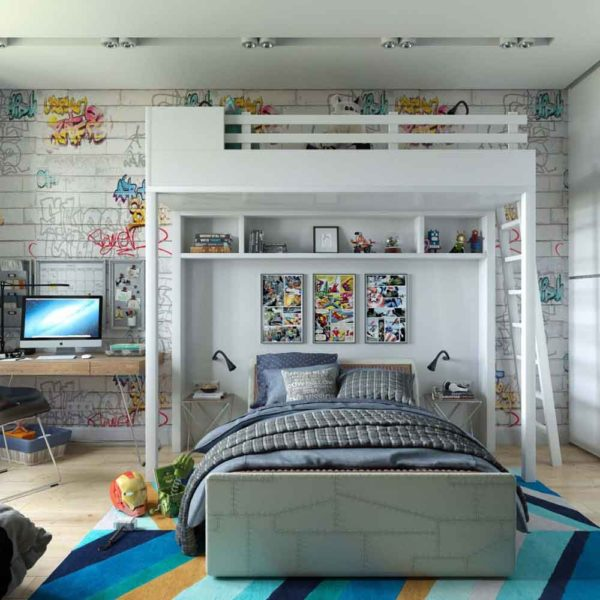 Дизайн интерьера четырехкомнатной квартиры в дуете классики и модерна by Elitehouse - фото 15