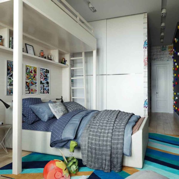 Дизайн интерьера четырехкомнатной квартиры в дуете классики и модерна by Elitehouse - фото 16