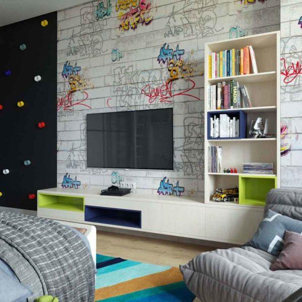 Дизайн интерьера четырехкомнатной квартиры в дуете классики и модерна by Elitehouse - фото 17