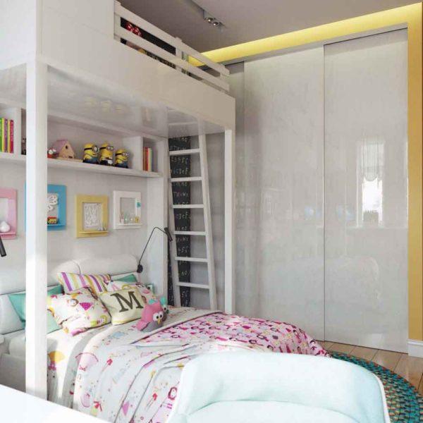 Дизайн интерьера четырехкомнатной квартиры в дуете классики и модерна by Elitehouse - фото 20