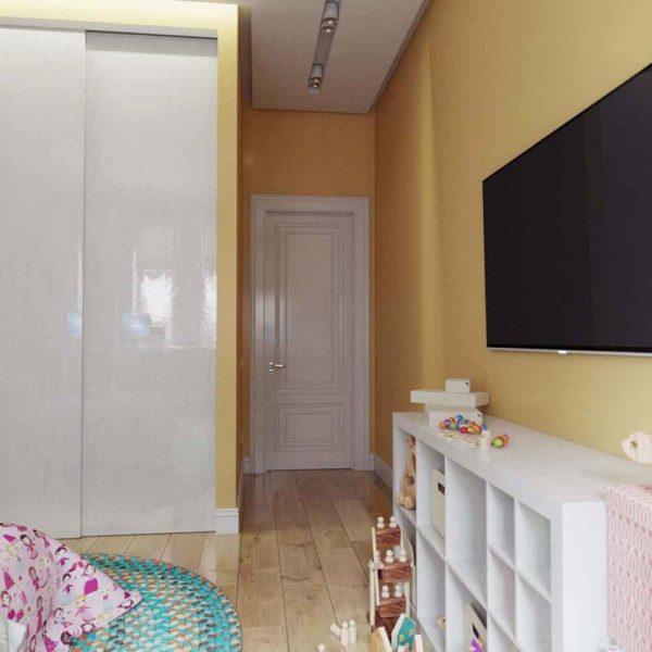 Дизайн интерьера четырехкомнатной квартиры в дуете классики и модерна by Elitehouse - фото 22