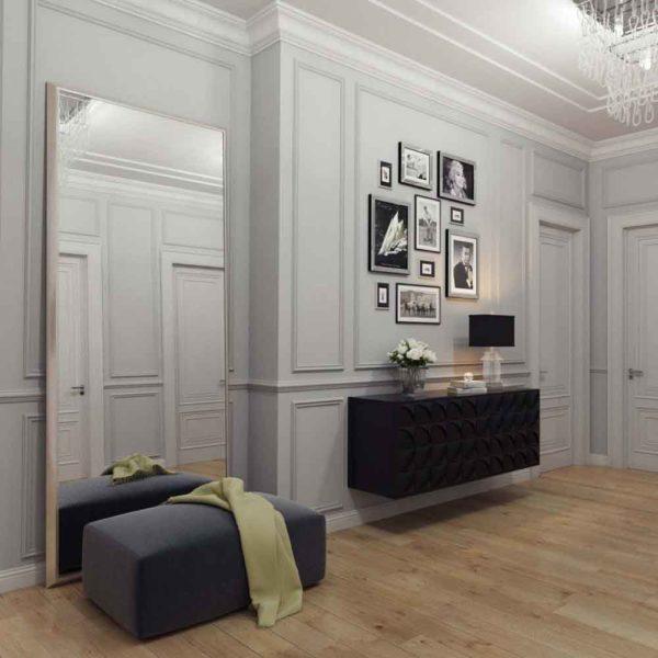 Дизайн интерьера четырехкомнатной квартиры в дуете классики и модерна by Elitehouse - фото 23