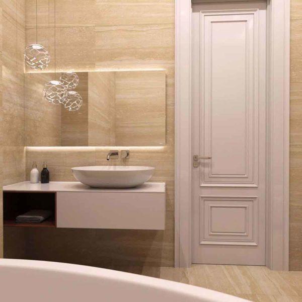 Дизайн интерьера четырехкомнатной квартиры в дуете классики и модерна by Elitehouse - фото 26