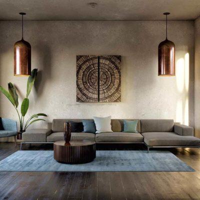 """Дизайн интерьера в стиле ваби-саби """"Вилла в Испании"""" by ARCHEVISTA DESIGN"""