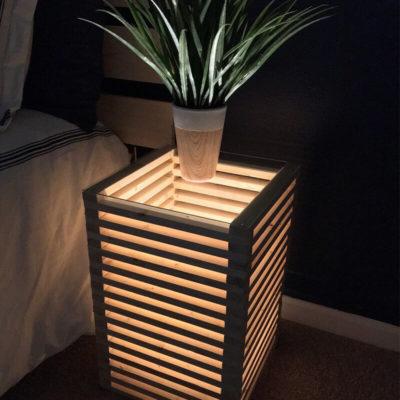 Дизайнерская тумба светильник