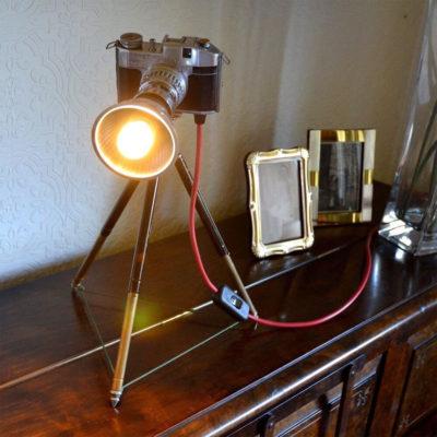 Светильник фотоаппарат