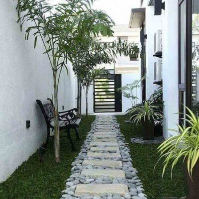 Дизайн дорожек во дворе дома на любой вкус - фото 15