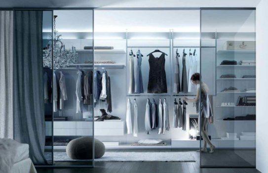 dressing room design 01 543x350 - Грамотный и функциональный дизайн гардеробной комнаты