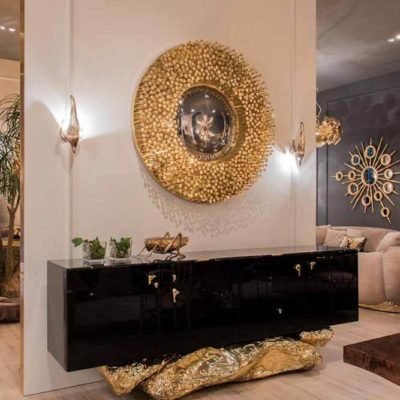 """Золото в интерьере – как не переборщить с """"богатством"""" - фото 23"""