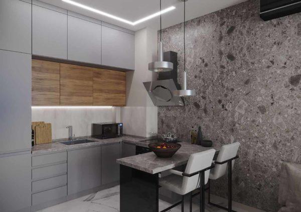 Дизайн интерьера 1-комн.кв. «Современность в ЖК Henesi House»  by NS INTERIOR DESIGN - фото 2