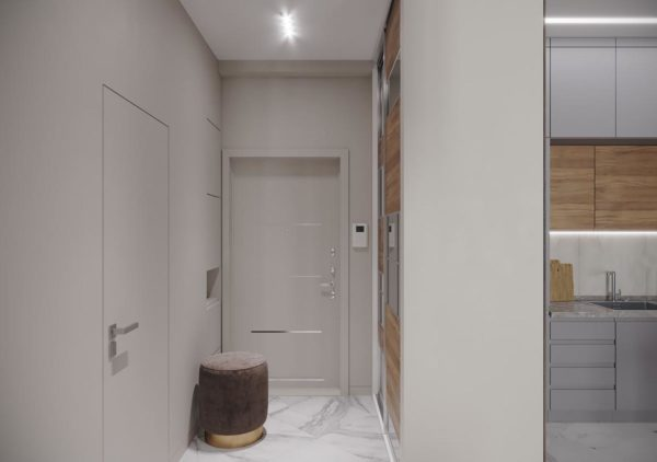 Дизайн интерьера 1-комн.кв. «Современность в ЖК Henesi House»  by NS INTERIOR DESIGN - фото 7