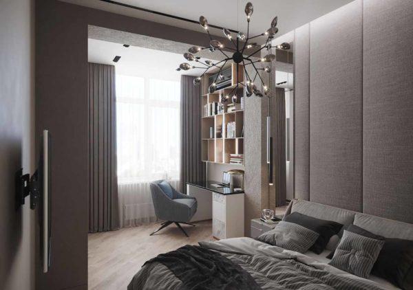 Дизайн интерьера 1-комн.кв. «Современность в ЖК Henesi House»  by NS INTERIOR DESIGN - фото 11