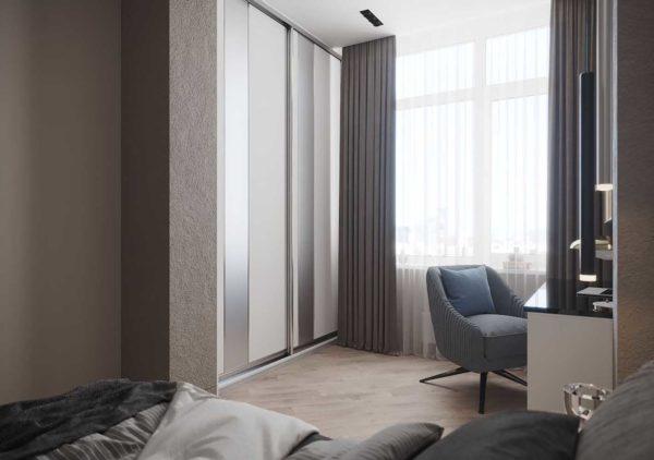 Дизайн интерьера 1-комн.кв. «Современность в ЖК Henesi House»  by NS INTERIOR DESIGN - фото 13