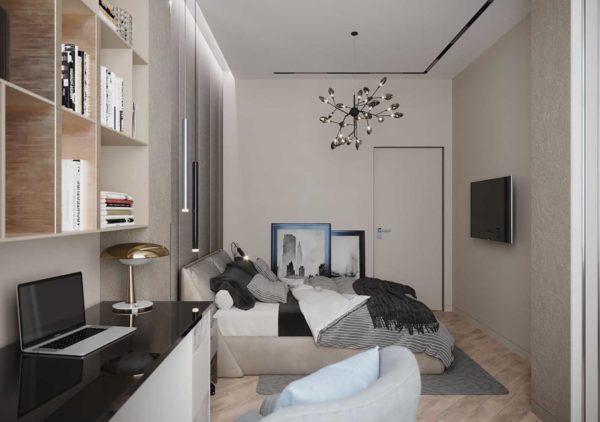 Дизайн интерьера 1-комн.кв. «Современность в ЖК Henesi House»  by NS INTERIOR DESIGN - фото 14