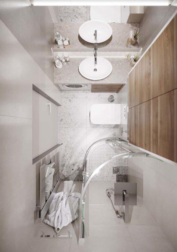 Дизайн интерьера 1-комн.кв. «Современность в ЖК Henesi House»  by NS INTERIOR DESIGN - фото 18