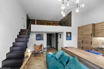 Высокие потолки в интерьере квартиры или дома